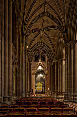Photograph - Inside The Washington National Cathedral #2 by Stuart Litoff