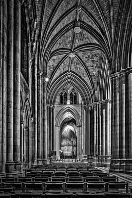 Photograph - Inside The Washington National Cathedral by Stuart Litoff