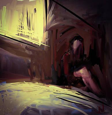Digital Art - Inside The Window by Jim Vance