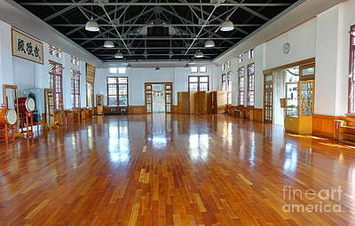 Photograph - Inside The Wu De Martial Arts Hall by Yali Shi