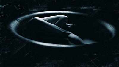 Nudeart Photograph - Inside Tyre by Jani Hotakainen