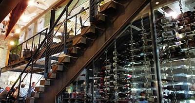 Photograph - Inside Ulele The Wine Storage by Judy Wanamaker