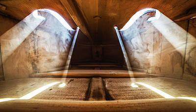 Orchestra Photograph - Inside Violin by Adrian Borda