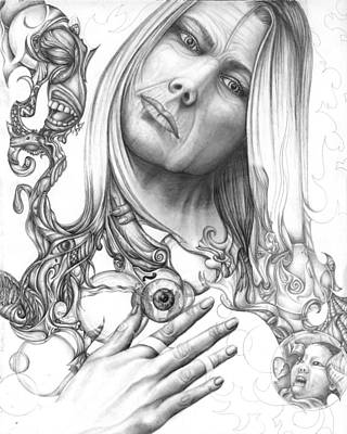 Drawing - Insight by Karen Musick