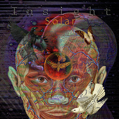 Digital Art - Insight To Speak Of..  Solar by Joseph Mosley