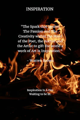 Digital Art - Inspiration And Creativity by Warren Brown