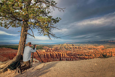 Photograph - Inspiration At The Point - Bryce by Nikolyn McDonald