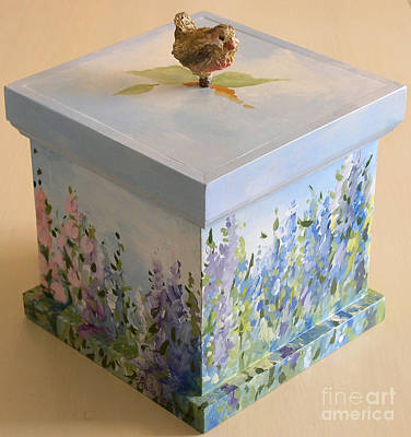 Wren Mixed Media - Inspiration Box by Laurie Rohner