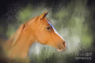 Inspiration - Horse Art By Michelle Wrighton Art Print