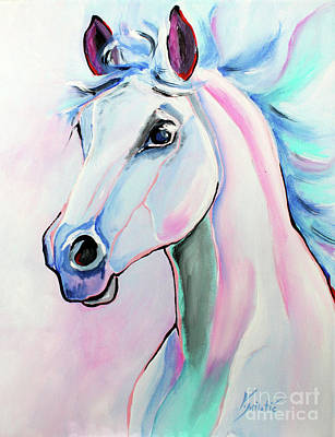 Airport Maps - Inspiration - Horse Art by Valentina Miletic by Valentina Miletic