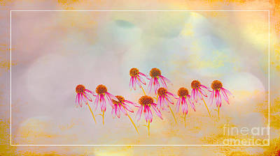 Inspiration Of Spring Art Print by Beverly Guilliams