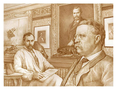 Whitehouse Drawing - Inspiration Of The Lincoln Cent by Joel Iskowitz