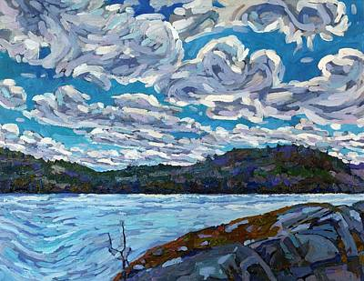 Lake Harris Painting - Inspiration by Phil Chadwick