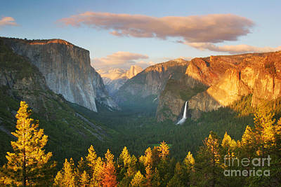 Veiled Photograph - Inspiration Point Yosemite by Buck Forester