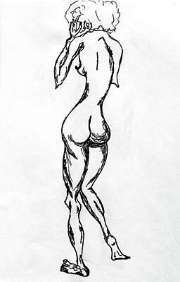 Drawing - Inspiration by Sandra Rincon