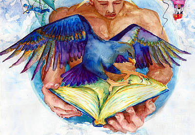 Painting - Inspiration Spreads Its Wings by Melinda Dare Benfield