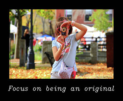 Photograph - Inspirational- Focus by Brian Pflanz