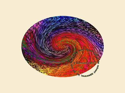Digital Art - Inspirational - God Looks Upon The Heart by Glenn McCarthy Art and Photography