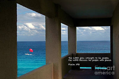 Photograph - Inspirational - Picture Windows by Mark Madere