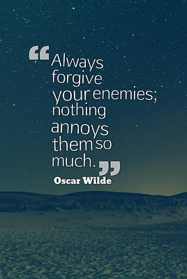 Inspirational Quotes - Motivational - 128 Forgiveness Art Print