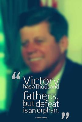 Mellow Yellow - Inspirational Quotes - Motivational - John F. Kennedy 15 by Celestial Images