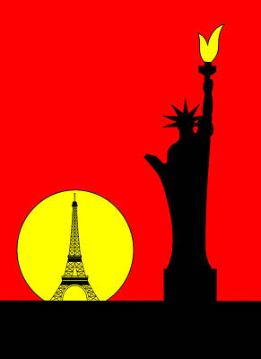 Inspired By The Statue Of Liberty In Paris Original by Asbjorn Lonvig