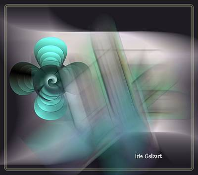 Digital Art - Inspired by Iris Gelbart