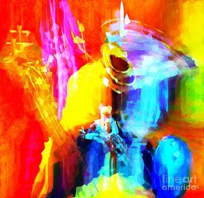 Yesayah Painting - Inspired To Interpret by Fania Simon