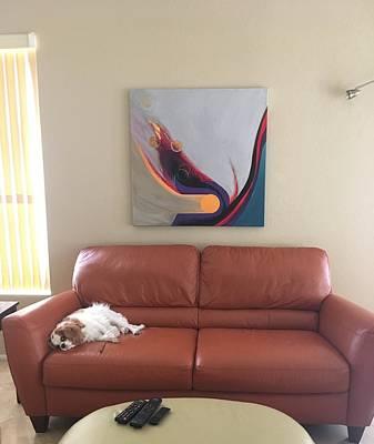 Painting - Installation Ajb by Marlene Burns