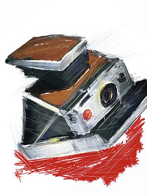 Vintage Camera Mixed Media - Instant Fun by Russell Pierce