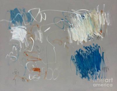 Painting - Instinct-1 by Diane Desrochers