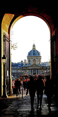 Photograph - Institut De France In Paris, France by Richard Rosenshein