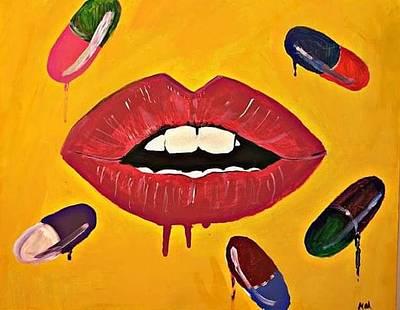 Painting - Intake Creativity  by Miriam Moran