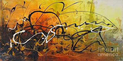 Painting - Integration by Preethi Mathialagan