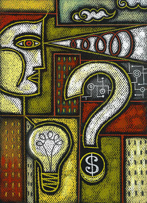 Knowledge Object Painting - Intelligence by Leon Zernitsky