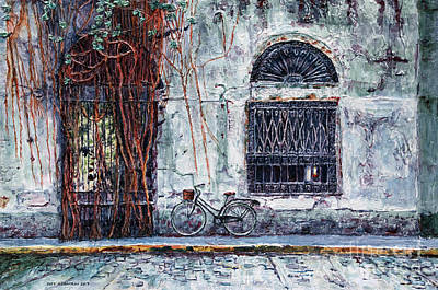 Painting - Intendencia Ruins, Intramuros, Manila by Joey Agbayani