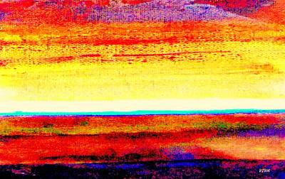 Painting - Intense Calm - Dedicated. by VIVA Anderson