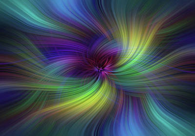 Photograph - Intense Healing Eclectic Paradigm by Jenny Rainbow
