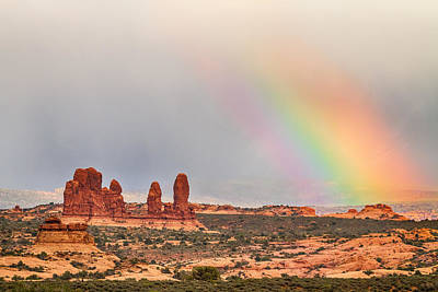 Photograph - Intense Rainbow by James BO  Insogna