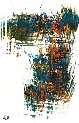 Painting - Intensive Abstract Painting 700.112411 by Kris Haas