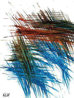 Painting - Intensive Abstract Painting 707.102610 by Kris Haas