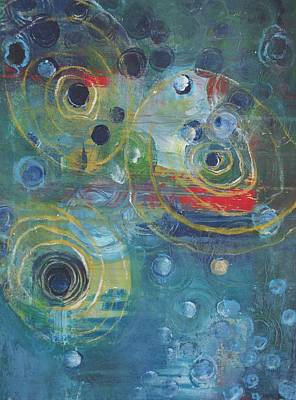 Painting - Intention by Laurie Maves ART