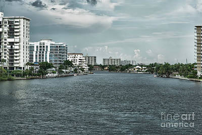 Photograph - Intercoastal Florida by Judy Wolinsky