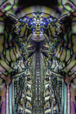 Digital Art - Interdimensional Communique by WB Johnston