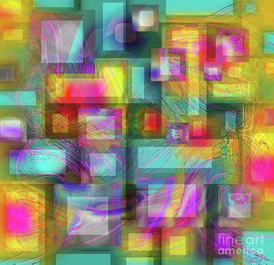 Digital Art - Interdimensional by Expressionistart studio Priscilla Batzell
