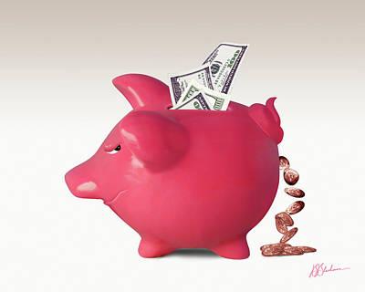 Financial Interest Digital Art - Interest Is A Lot Of... by Barry Blackman