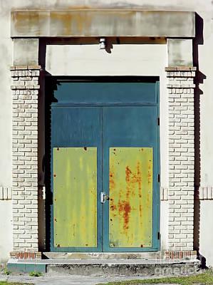 Photograph - Interesting Door by D Hackett