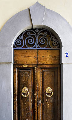 Photograph - Interesting Door by Marilyn Hunt