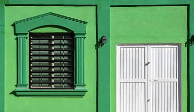 Interesting Doorways Art Print by Jon Manjeot
