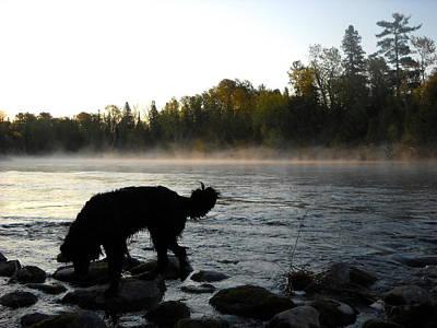 Photograph - Interesting Mississippi River Dawn by Kent Lorentzen